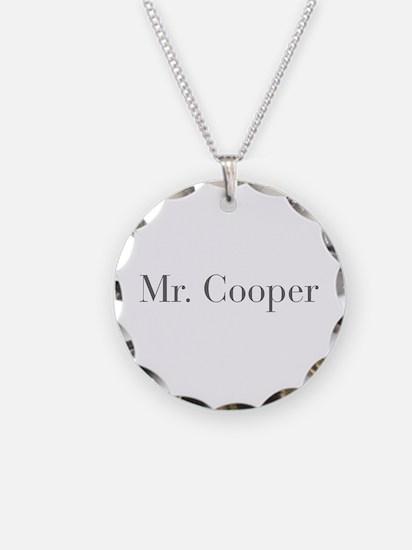 Mr Cooper-bod gray Necklace