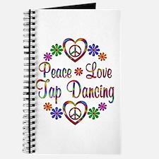 Peace Love Tap Dancing Journal