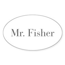 Mr Fisher-bod gray Decal