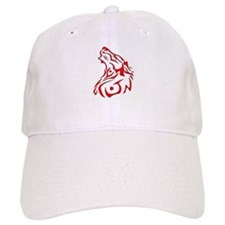 Howling Wolf (Tribal) Cap