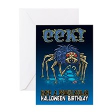 Halloween Birthday Card Greeting Cards
