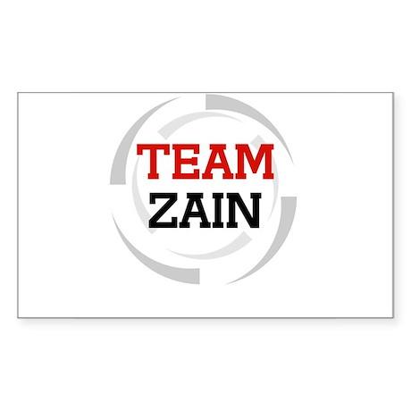 Zain Rectangle Sticker