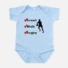 Crawl Walk Rugby Body Suit