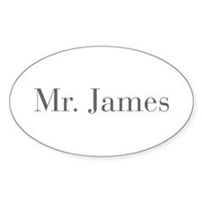 Mr James-bod gray Decal