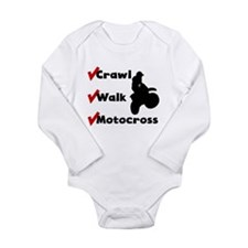 Crawl Walk Motocross Body Suit