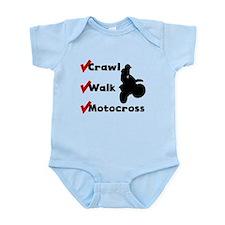 Crawl Walk Motocross Body Suit