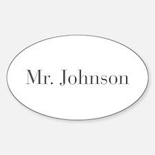 Mr Johnson-bod gray Decal