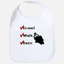 Crawl Walk Race Bib
