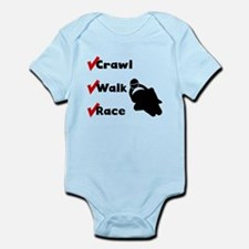 Crawl Walk Race Body Suit