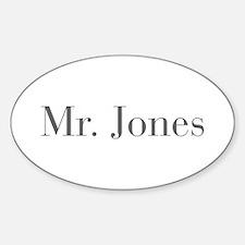 Mr Jones-bod gray Decal
