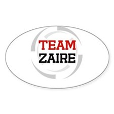 Zaire Oval Decal