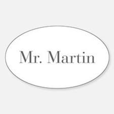 Mr Martin-bod gray Decal