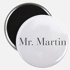 Mr Martin-bod gray Magnets