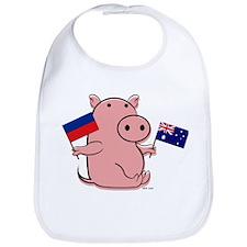 AUSTRALIA AND HAITI Bib