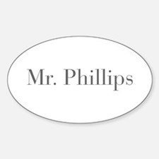 Mr Phillips-bod gray Decal