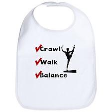 Crawl Walk Balance Bib