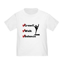 Crawl Walk Balance T-Shirt