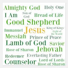 The Names of Jesus Invitations