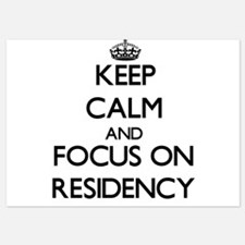 Keep Calm and focus on Residency Invitations