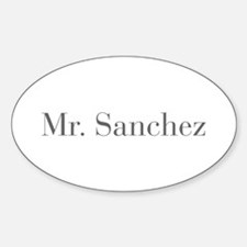 Mr Sanchez-bod gray Decal