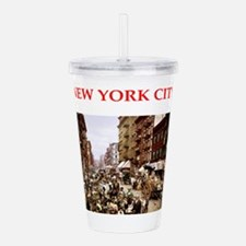 new york city Acrylic Double-wall Tumbler