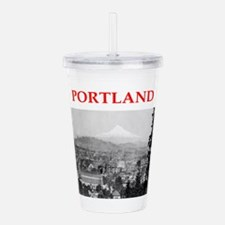 portland Acrylic Double-wall Tumbler