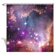 Small Magellan Cloud Shower Curtain