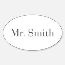 Mr Smith-bod gray Decal