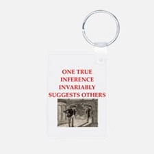 sherlock holmes quote Keychains