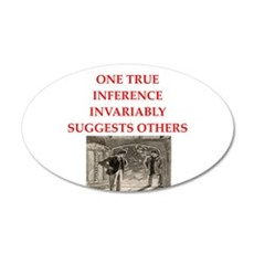 sherlock holmes quote Wall Decal