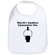 Worlds Smallest Gymnastics Fan Bib