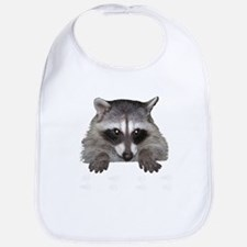 Raccoon and Tracks Bib