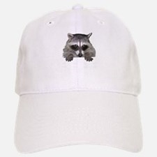 Raccoon and Tracks Baseball Baseball Cap