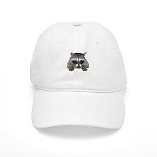 Raccoon and Tracks Baseball Cap