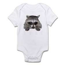Raccoon and Tracks Infant Bodysuit