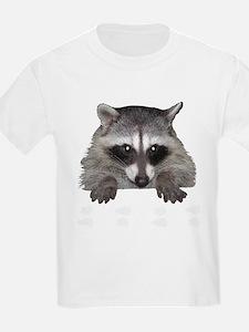 Raccoon and Tracks T-Shirt