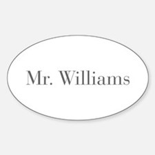 Mr Williams-bod gray Decal