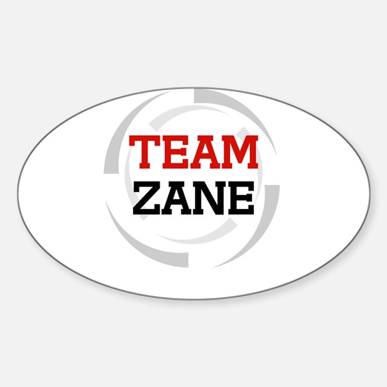 Zane Oval Decal