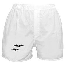 Halloween Bats Boxer Shorts