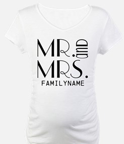 Personalized Mr. Mrs. Shirt