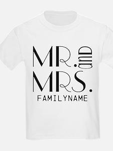 Personalized Mr. Mrs. T-Shirt