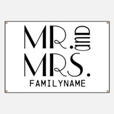 Personalized Mr. Mrs. Banner
