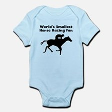 Worlds Smallest Horse Racing Fan Body Suit