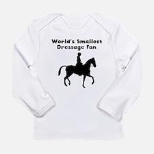 Worlds Smallest Dressage Fan Long Sleeve T-Shirt