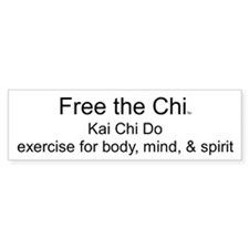 Free the Chi Bumper Car Sticker