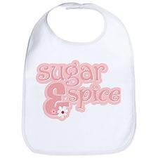 Sugar & Spice Baby Bib