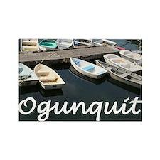 Ogunquit Harbor Rectangle Magnet (10 pack)