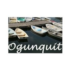Ogunquit Harbor Rectangle Magnet