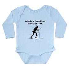 Worlds Smallest Biathlon Fan Body Suit