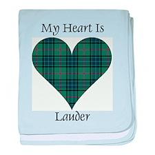 Heart - Lauder baby blanket